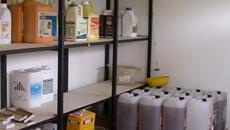 Stockage et transport des produits phytosanitaires