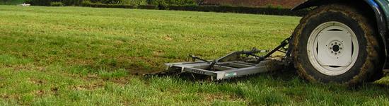 Entretien mécanique des prairies